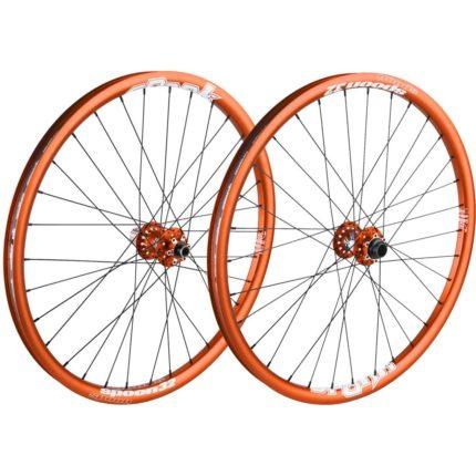 "Spank Spoon Bakhjul 26"" Orange (135x12mm)-0"