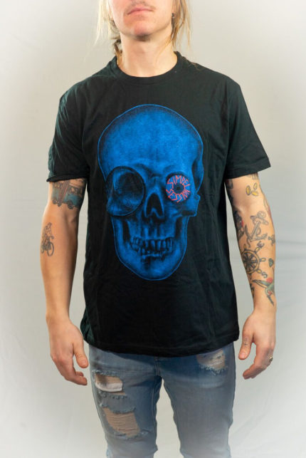 Simpel Session Skull Tee Small-0