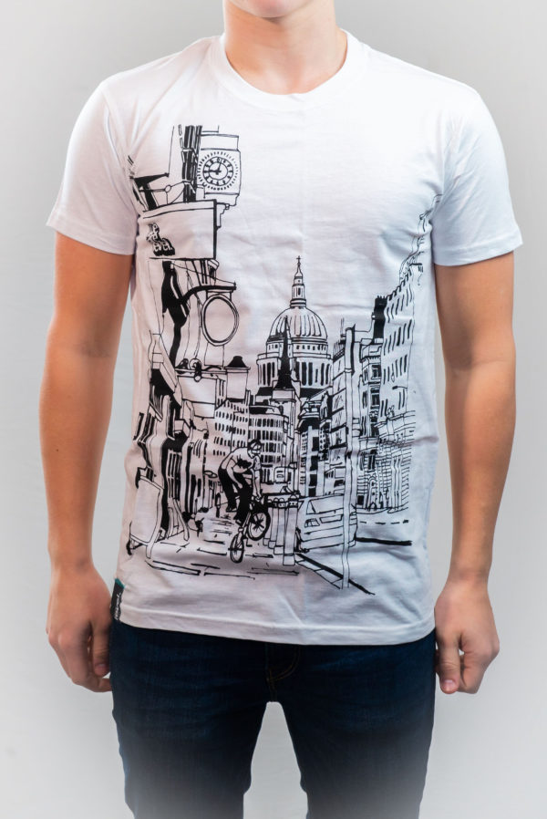 WeAreLevel St Pauls Tee Small-0