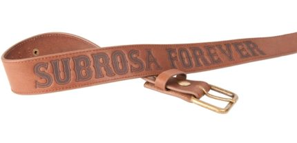 Subrosa Forever Bälte Brun-XL-0