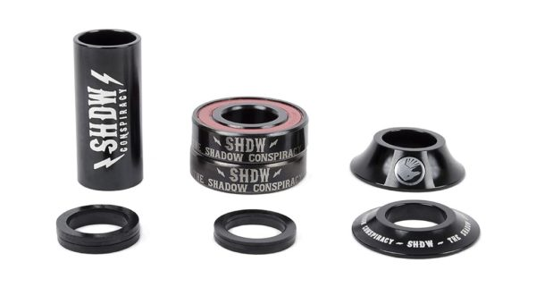 The Shadow Conspiracy Stacket Mid BB Silver 19mm-0