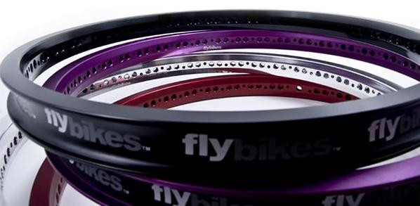 "Flybikes Regular Lacing Fälg - Vit - 20"" - 36H-0"