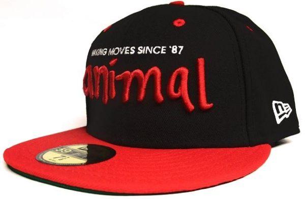 Animal Nigel Keps Svart 7 5/8-0