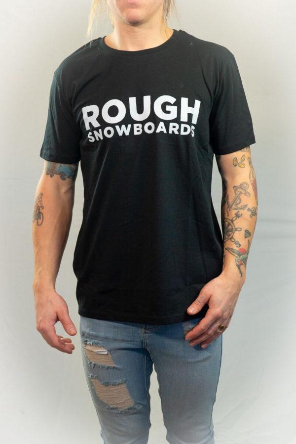 ROUGH SNOWBOARDS, T-shirt, Large-0