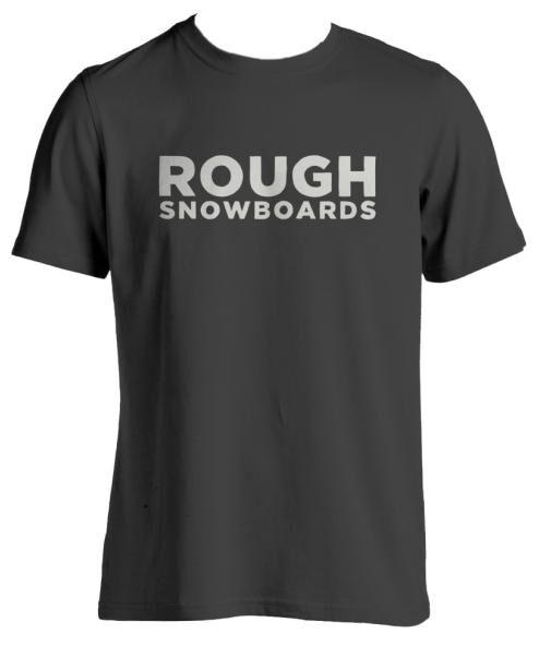 ROUGH SNOWBOARDS, T-shirt, Large-7398