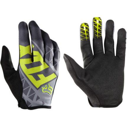 FOX Demo glove, Grå/gul-0