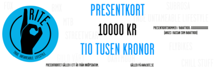 Presentkort Rite, 10000 kr.-0