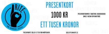 Presentkort Rite, 5000 kr.-0