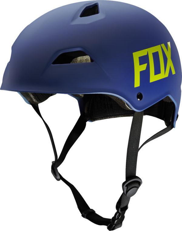 FOX, Flight Hardshell hjälm, Matt blå-0