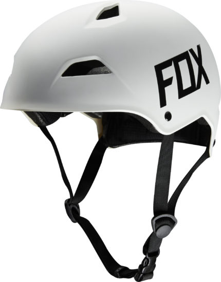 FOX, Flight Hardshell hjälm, Matt vit-0