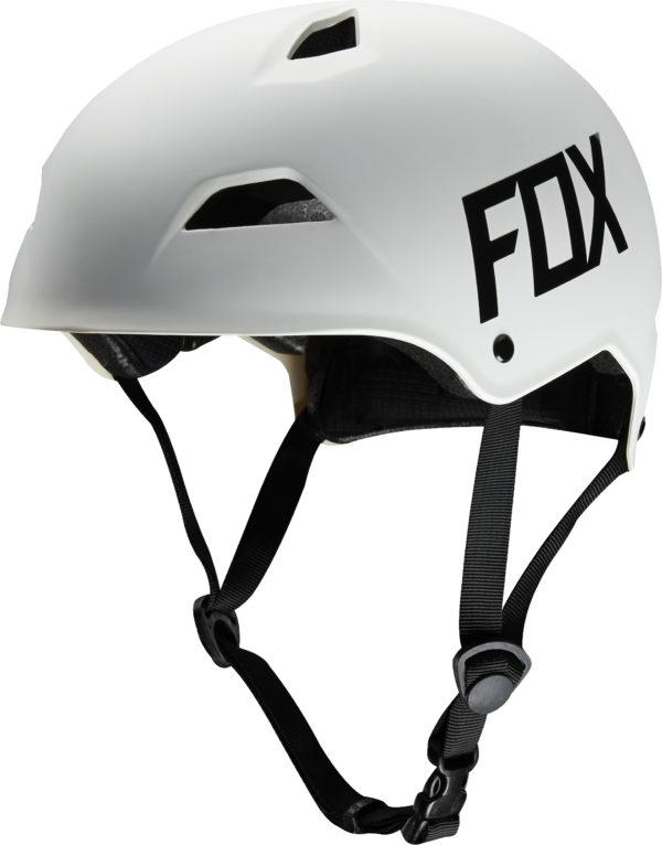 FOX, Flight Hardshell hjälm, Matt vit-0