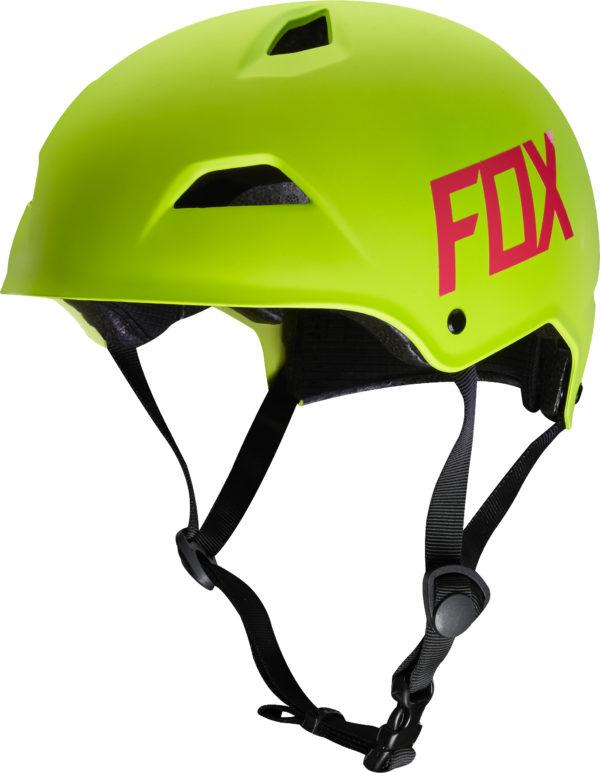 FOX, Flight Hardshell hjälm, Flo Yellow (M)-0