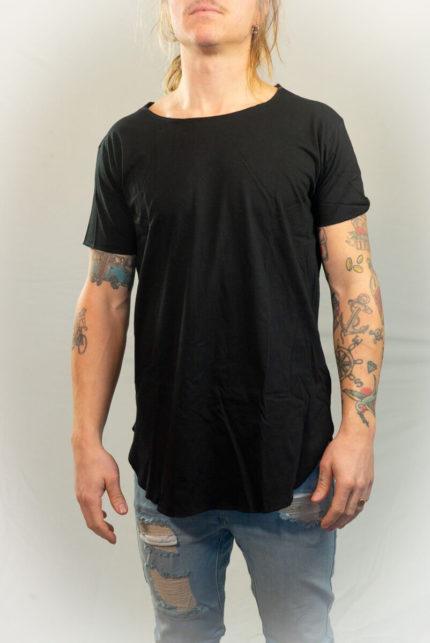 SomeWear, Cobain knitted Tee, svart-0