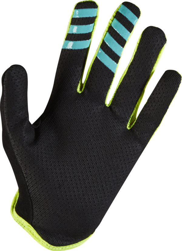 FOX, Womens Lynx Gloves, Flo Yellow, S-16292