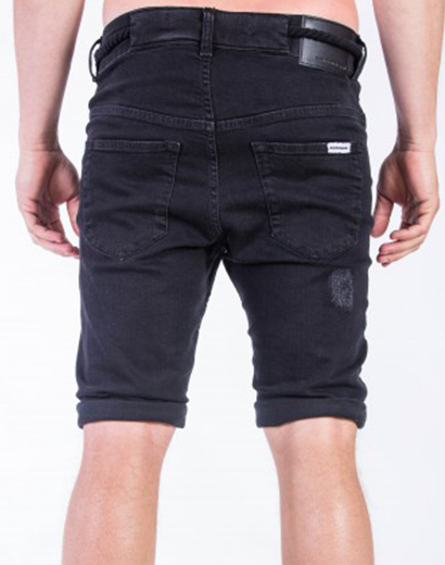 SomeWear, Denimshorts Echo, svart-16404