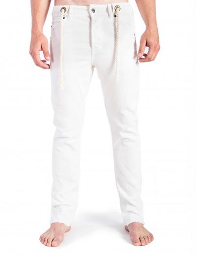 SomeWear, Echo Jeans Rawcut, vit-0