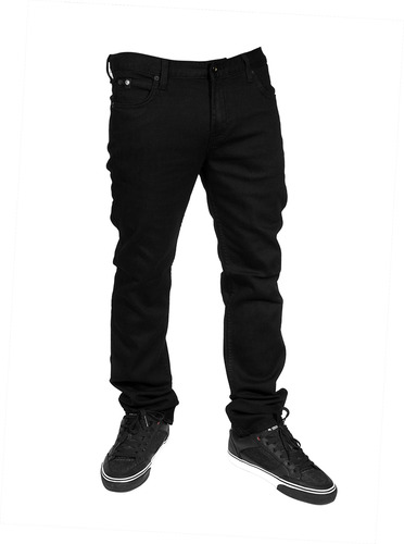 TSC, Vultus Skinny Jeans (stretch) , Svart-0