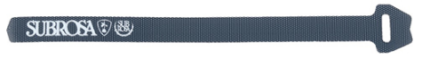 Subrosa, kardborre-strap, svart-0