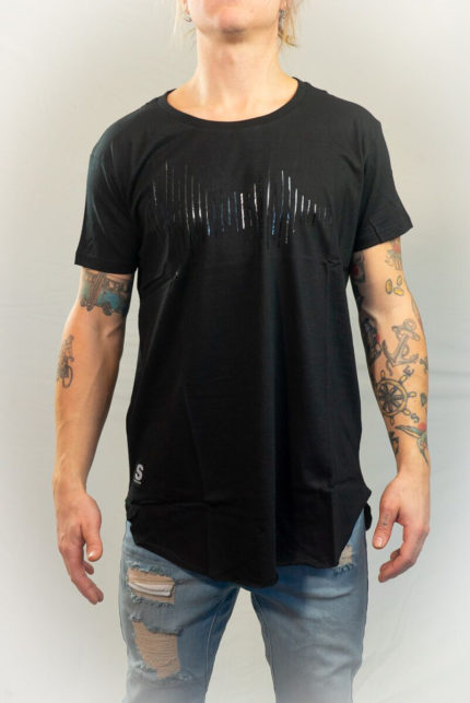 SomeWear T-shirt Soundwave Black-0