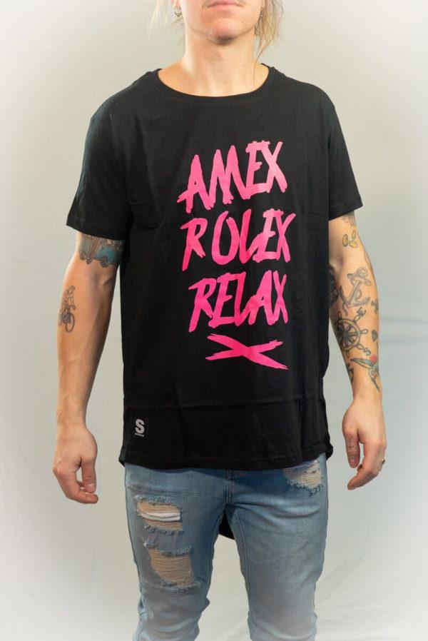 SomeWear T-shirt RELAX Pink-0