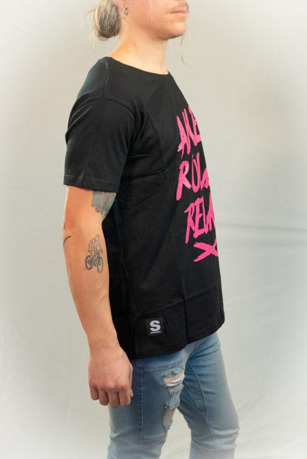 SomeWear T-shirt RELAX Pink-20090