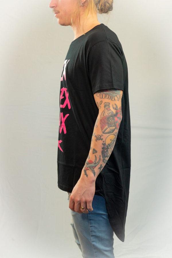 SomeWear T-shirt RELAX Pink-20091