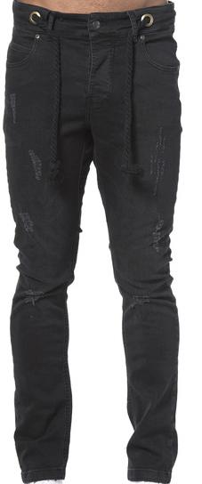 SomeWear AW16, Echo Destroyed Black Jeans-0