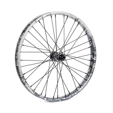 TSC, Corvus Complete Front Wheel, 36H, Raw Polish Tye Die-0