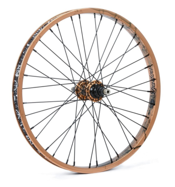 TSC, Corvus Complete Rear Wheel, 9T LHD, Black-0