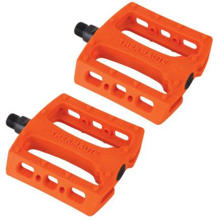 """Stolen Thermalite 9/16"""" BMX Pedaler Neon Orange-0"""