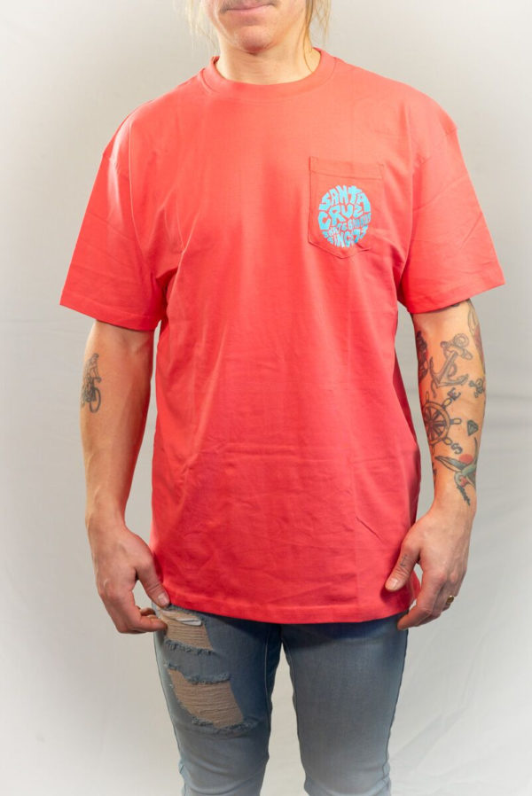 Santa Cruz Top Spin Pocket T-shirt-0
