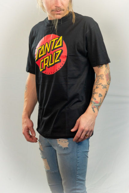Santa Cruz Svart T-shirt-0