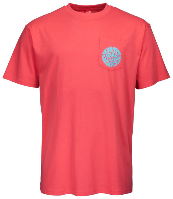 Santa Cruz Top Spin Pocket T-shirt-19735