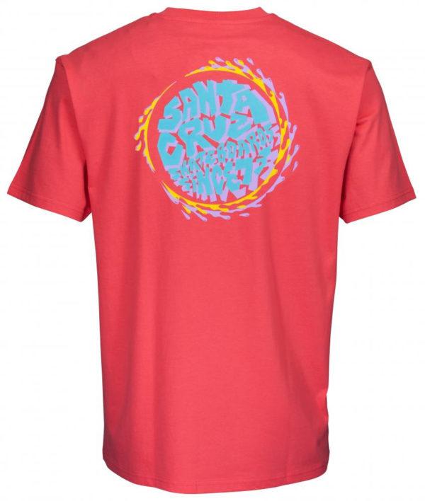 Santa Cruz Top Spin Pocket T-shirt-19736