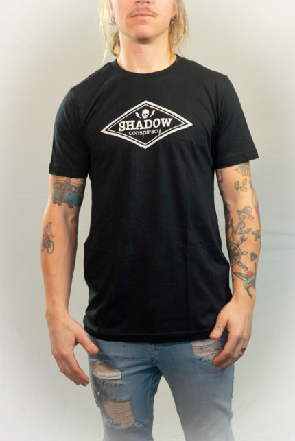 The Shadow Conspiracey Logo T-shirt-0