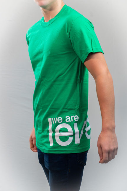 We Are Level Grass T-shirt-0
