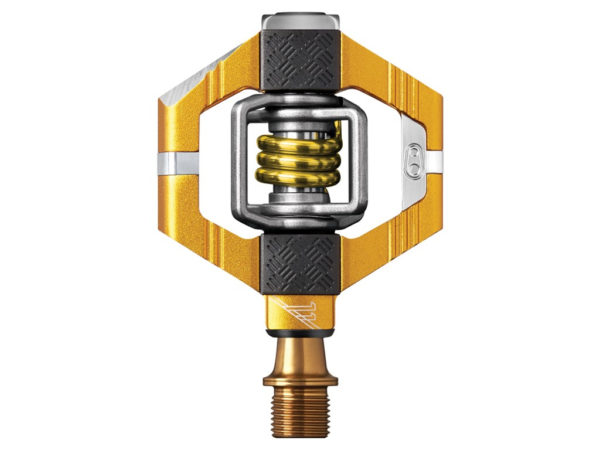 CRANKBROTHERS Pedal Candy 11 Grey/Gold -0