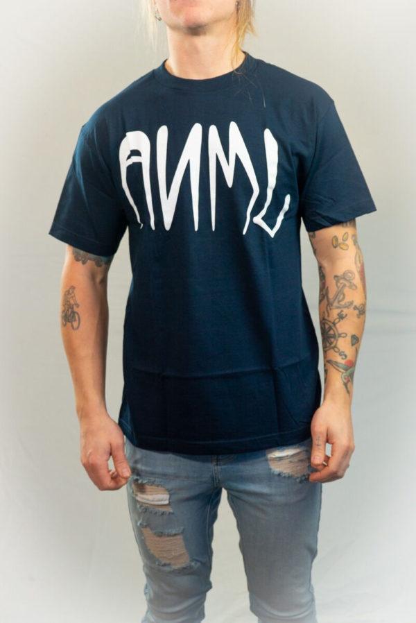 Animal Bikes Blue T-shirt -0