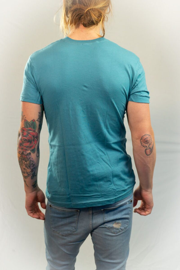 City Steel Blue T-shirt-21136