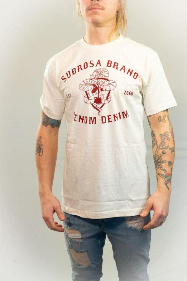 Subrosa Venom Demin T-shirt-20966