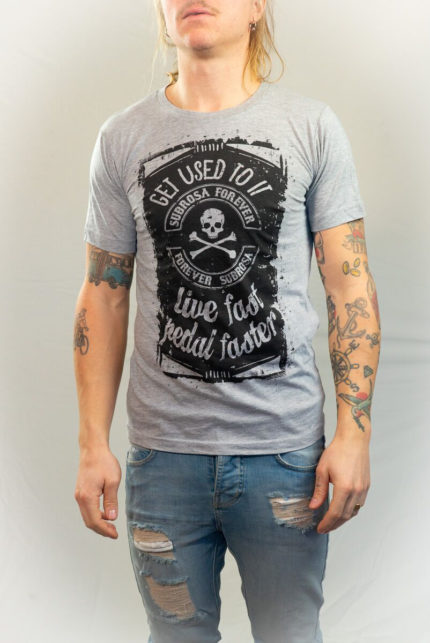 Subrosa Live Fast Pedal Faster T-shirt-0