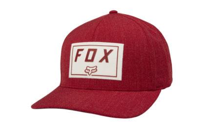 FOX Trance Flexfit Röd-0