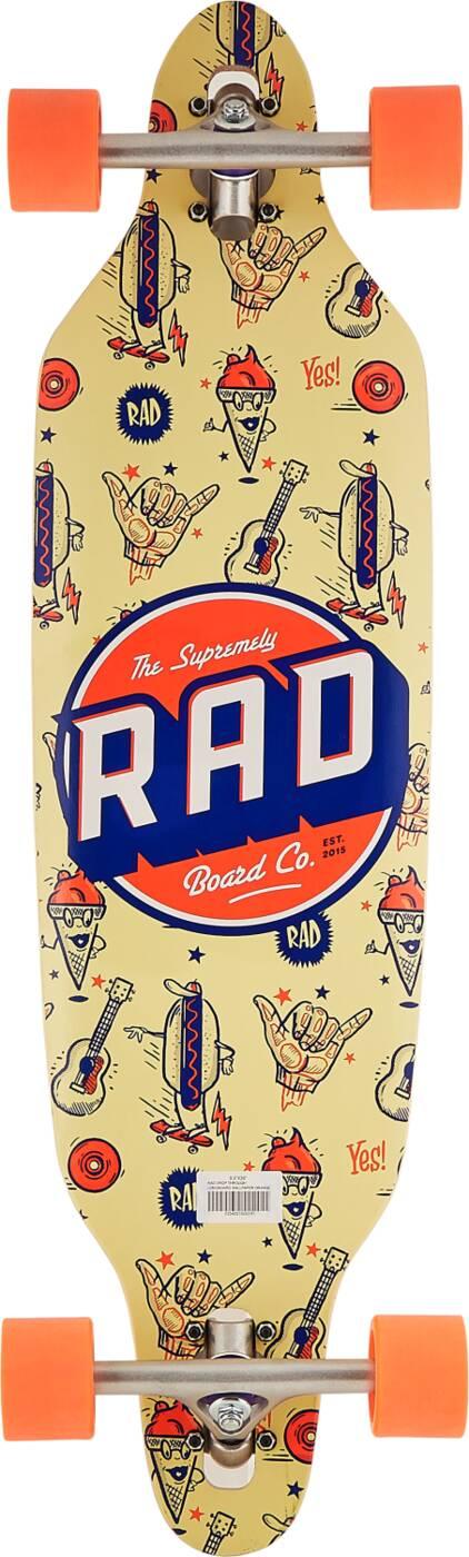 "RAD Longboard 36"" - Wallpaper Orange-0"