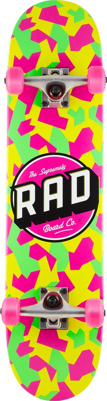 "RAD Dude Crew 7.5"" - Neon Camo-0"