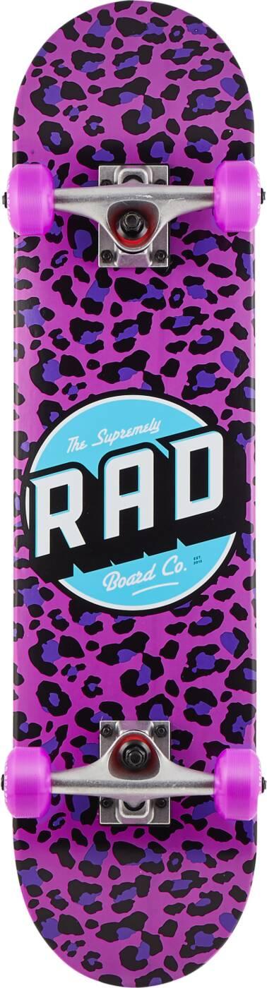 """RAD Dude Crew 7.25"""" - Leopard -0"""