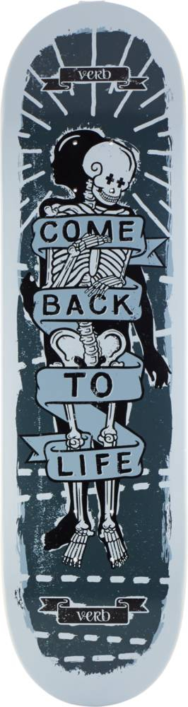 "Verb Skateboard Deck 8.325"" - Bruce Mckay-0"