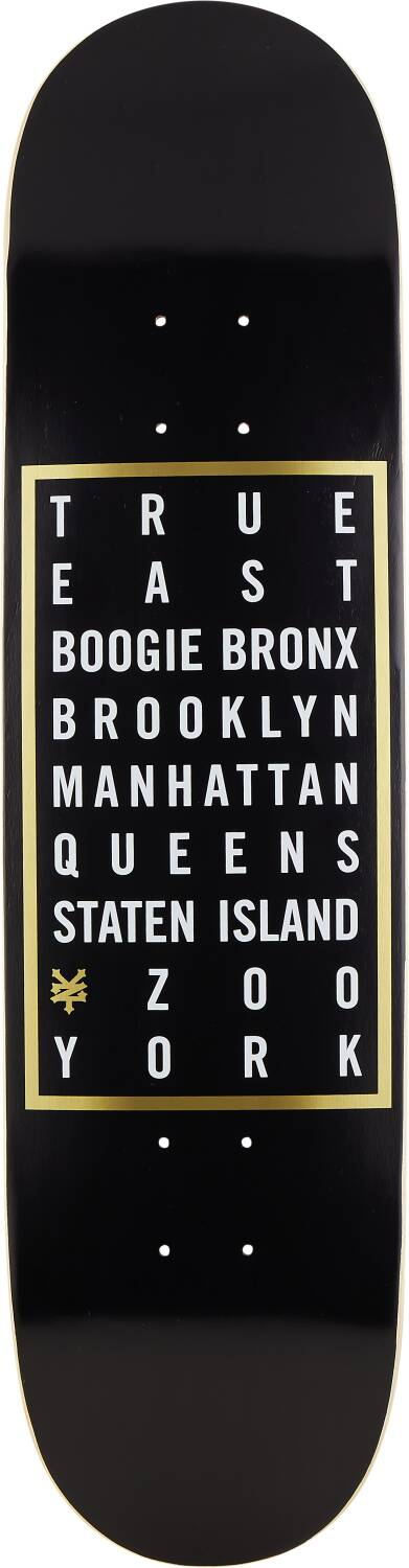 "Zoo York Skateboard Deck 8"" - Where You From-0"
